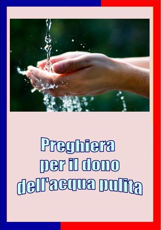 Preghiera per l'acqua